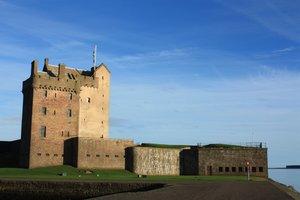 Gratis stock foto 39 s rgbstock gratis afbeeldingen broughty ferry castle colinbrough - Muur steen duidelijk ...