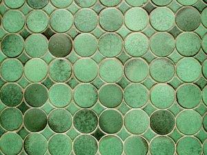 Groene Mozaiek Tegels : Gratis stock fotos rgbstock gratis afbeeldingen ronde groene