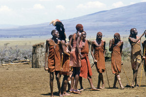 People from Maasai tribe 1