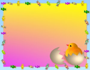 Easter Background 3